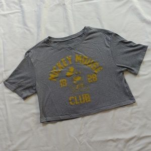 Mickey Mouse Club crop top